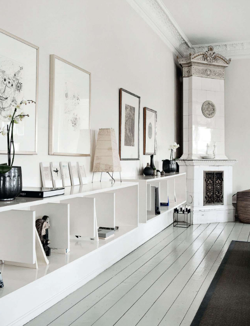 Calm white home - va Coco Lapine blog