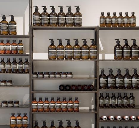 Aesop store - via Coco Lapine blog