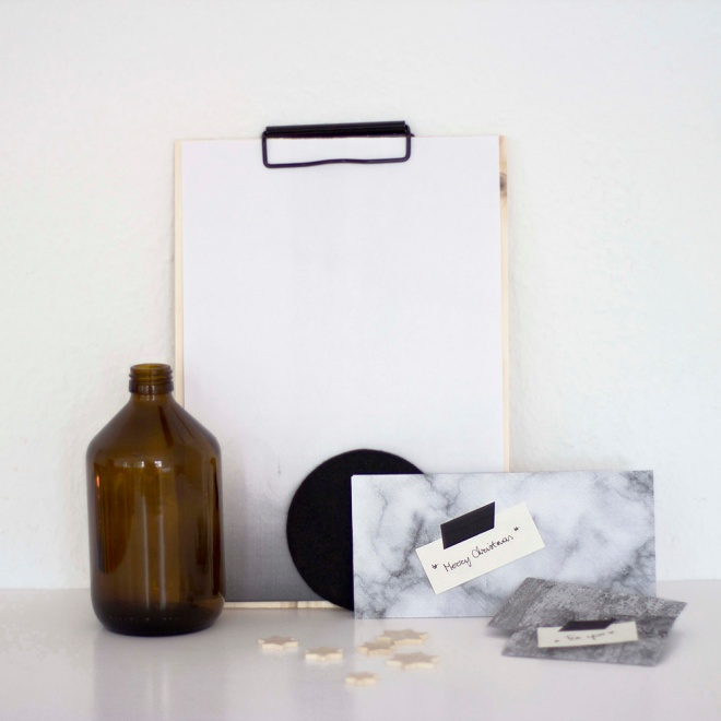 Diy christmas envelopes - by Coco Lapine blog