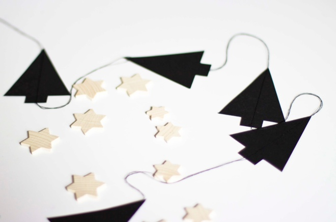 DIY christmas garland - Coco Lapine blog