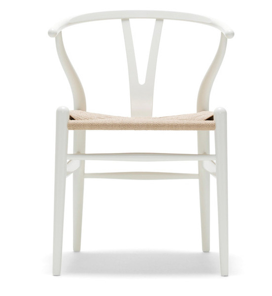 White Wishbone Chair - Coco Lapine blog