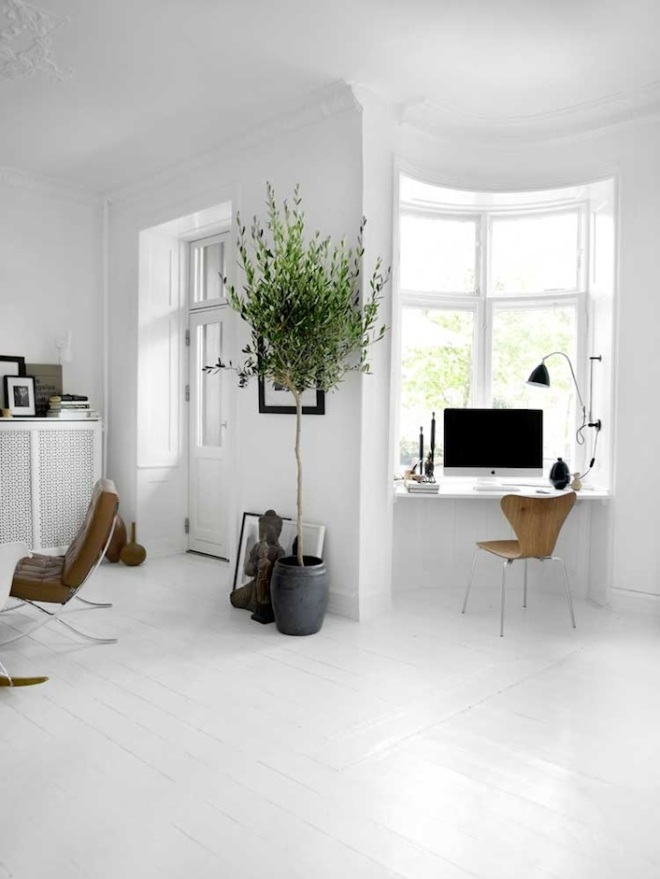 Monochrome apartment