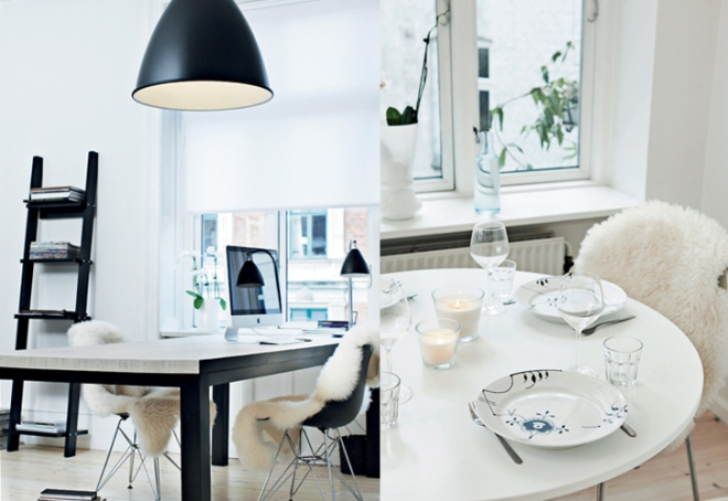 Design apartment in Kopenhagen - via Coco Lapine