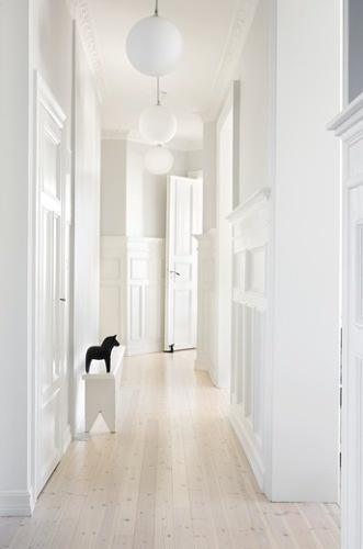 Monochrome Hallways - Coco Lapine
