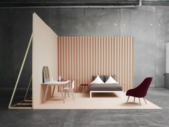 Hay, About a lounge - via Coco Lapine