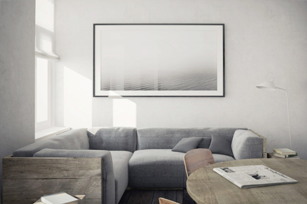 Greyscale apartment - Coco Lapine