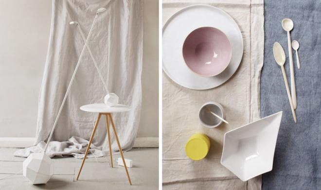 Pastel styling by Ania Wawrzkowicz - via Coco Lapine