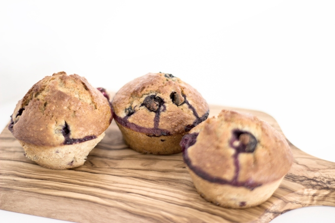 Blueberry Muffins - Coco Lapine