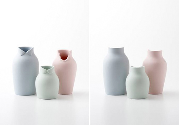 Nendo Dress-up vase - via Coco Lapine