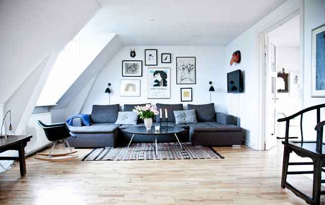Copenhagen apartment - via Coco Lapine