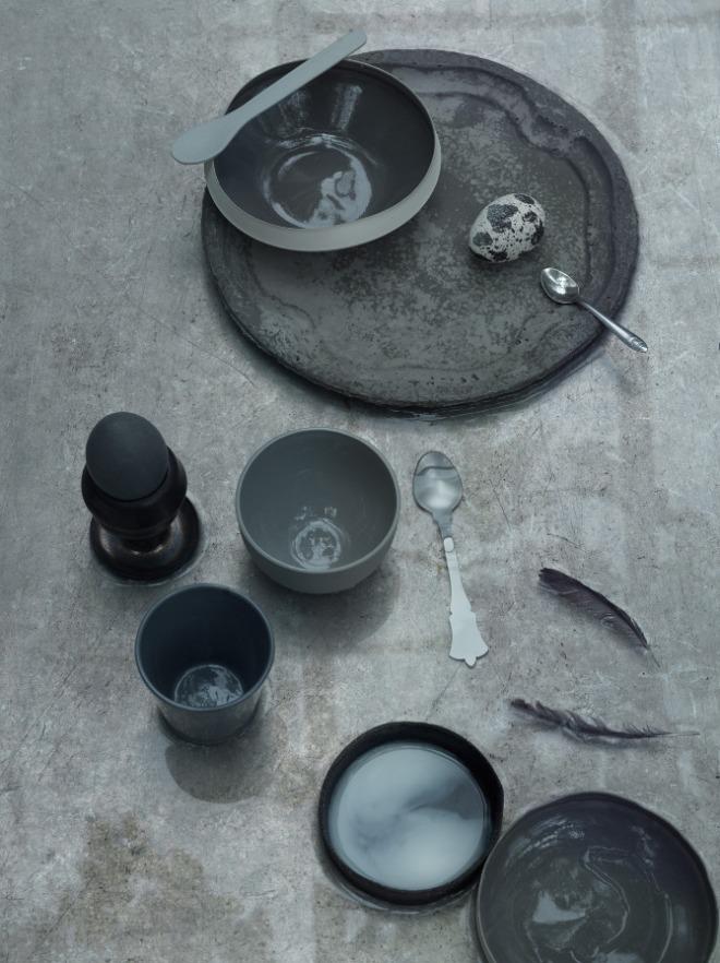 Shades of grey by Petra Bindel - via Coco Lapine