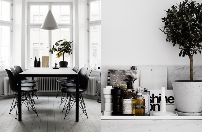 Therese Sennerholt's home - via Coco Lapine