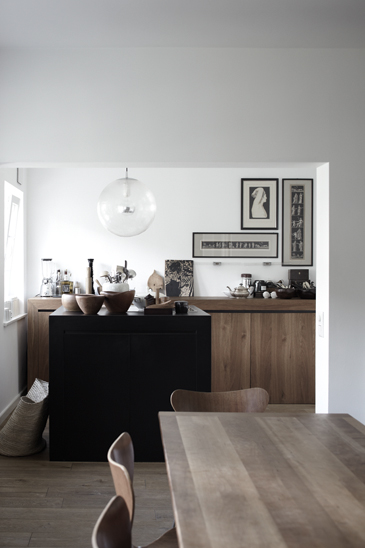 Etnic home in Hamburg - via Coco Lapine