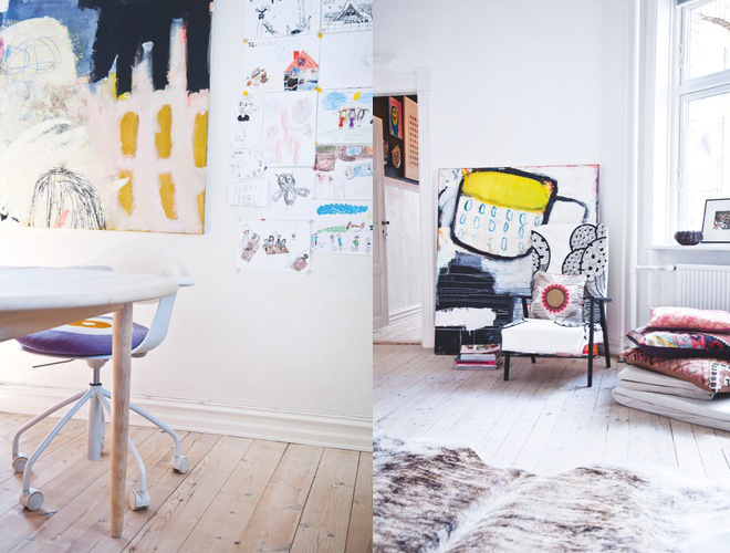 Colorful home - via Coco Lapine