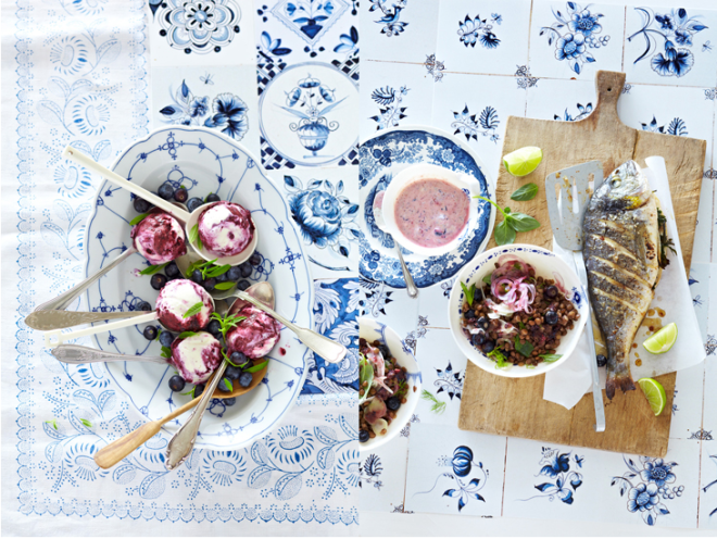 Tasty Blue by Janne Peters - via Coco Lapine
