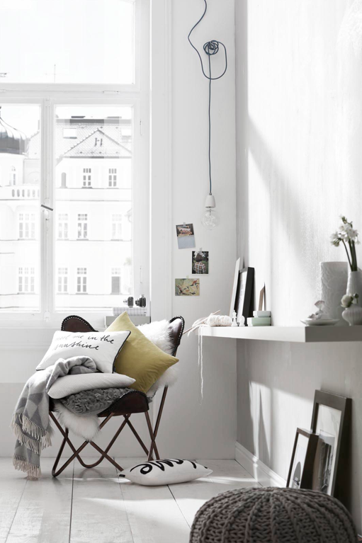 Mute colored living room - via Coco Lapine