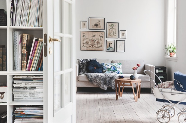 Vintage and playful home - via Coco Lapine