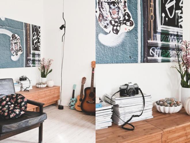 Vintage and playful home - via Coco Lapine