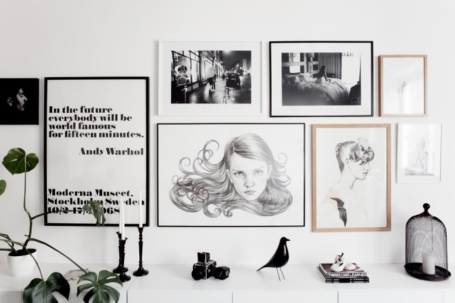 Jakob Nylund's apartment - via Coco Lapine