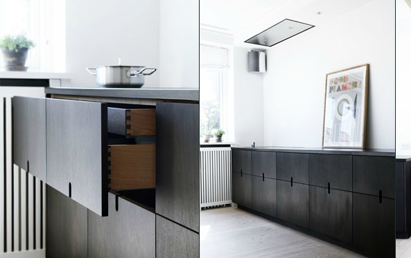 Simpel and elegant kitchen - via Coco Lapine