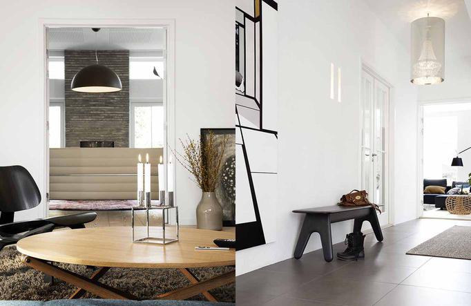Family home with hardwood floors - via Coco Lapine