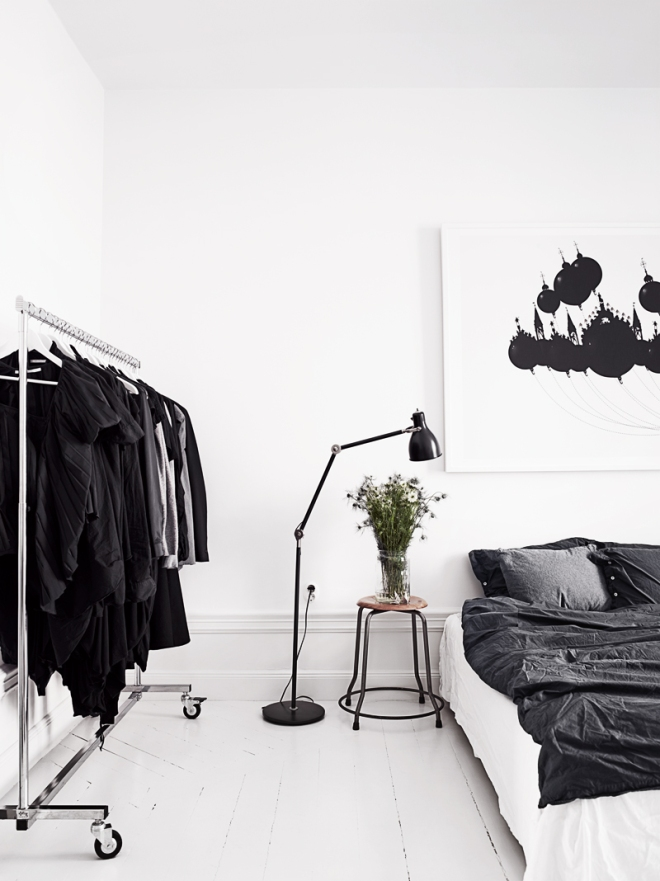 Stylish Stockholm apartment - via Coco Lapine