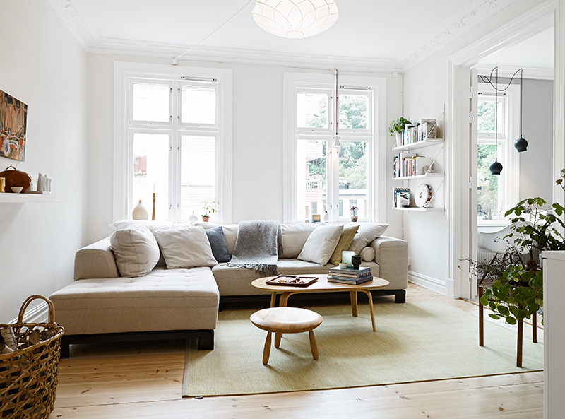 Lovely apartment in gotheburg coco lapine designcoco for Living room 5x3