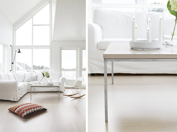 White, beige and grey - via Coco Lapine