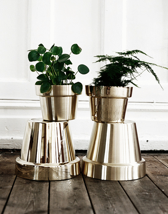 Gold Green - via Coco Lapine
