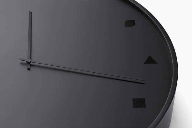 Corners clock by Nendo - via Coco Lapine