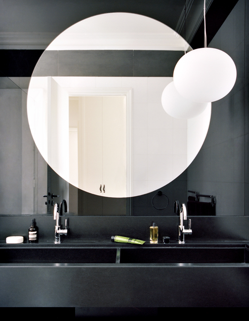 Dual Bathroom - via Coco Lapine