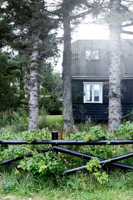 Black Danish summer house - via Coco Lapine