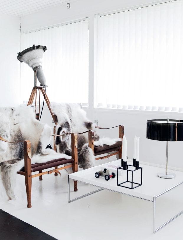The home of fashion designer David Andersen
