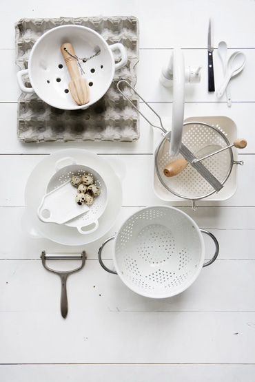 Pure kitchen styling by Femke Pastijn
