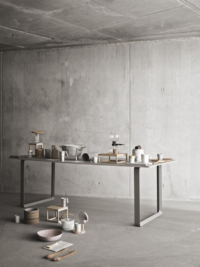 Concrete and Kitchen appliances