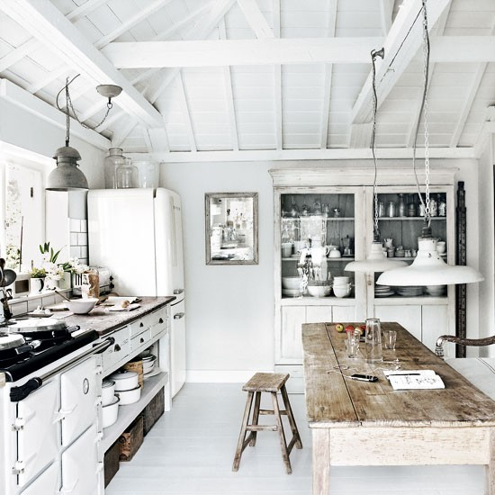 Rustic and industrial style home